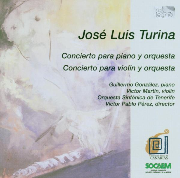 TURINA J. - Concierto Piano and Orq./Violin and Orq. CD COL LEGNO NEW