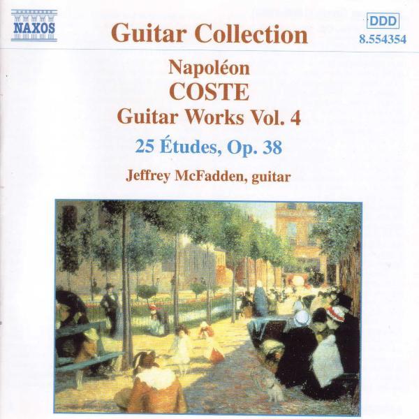 COSTE N. - Gitarrenwerke Vol.4 (op.38) CD Naxos NEW