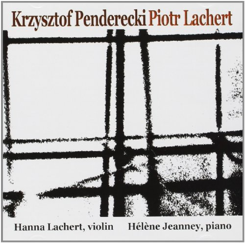 Hanna Lachert - Krzysztof Penderecki Piotr Lachert CD  NEU