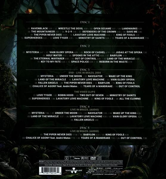 Edguy - Monuments - Nuclear Blast DVD Grooves Inc