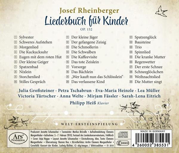 Großsteiner Tschabrun Heinzle Eitrich He Liederbuch Für Kinder