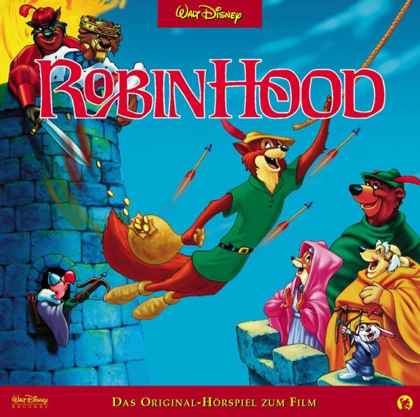 Walt Disney Robin Hood Walt Disney Cd Grooves Inc