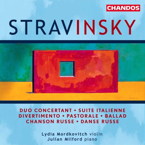 STRAVINSKY I. - Suite Italienne/Duo Concertant CD Chandos NEW