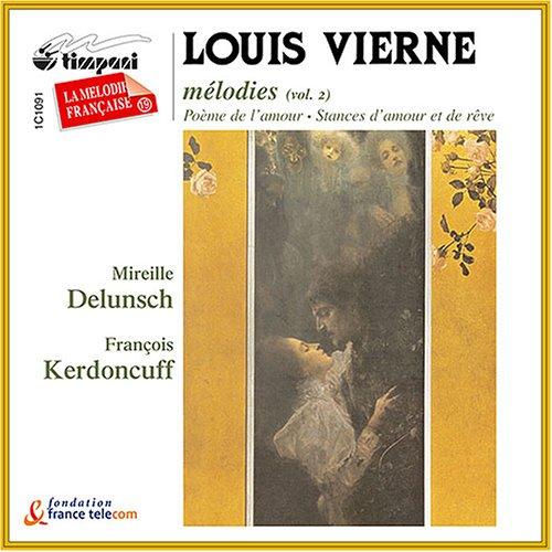 L. Vierne - La Melodie Francaise Vol. 19 CD  NEW