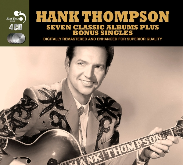 Hank Thompson - 7 Classic Albums Plus CD (4) Real Gone NEW