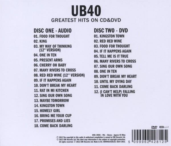 Ub40 - Sight & Sound - Virgin DVD Grooves Inc