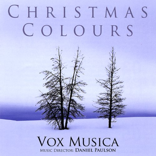 Vox Musica - Christmas Colours CD  NEW