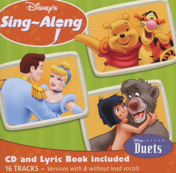disneys sing along disneys sing along duets disney cd grooves inc. Black Bedroom Furniture Sets. Home Design Ideas