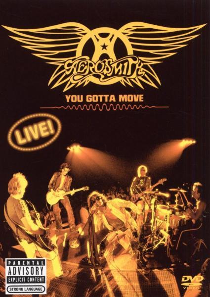 You Gotta Move (DVD+CD) - Aerosmith DVD (2) NEW