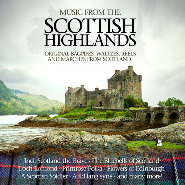 Various - Music from the Scottish Highlands CD (2) ZYX Music NEW