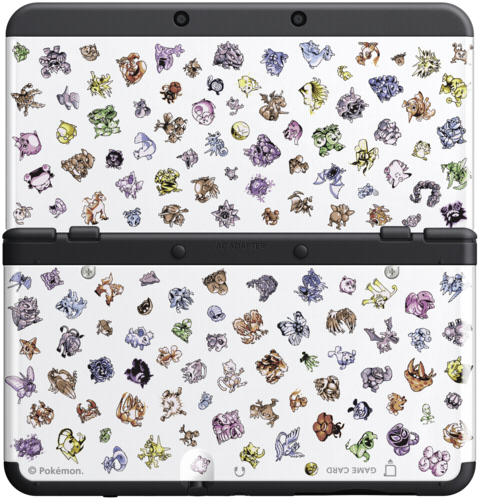 3ds 3dsn cover 031 pokemon retro new 3ds zubeh r for Housse 3ds pokemon