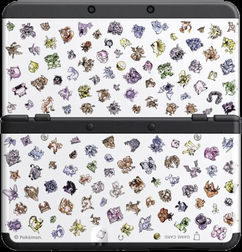 3ds 3dsn cover 031 pokemon retro new 3ds zubeh r for Housse 3ds pokemon