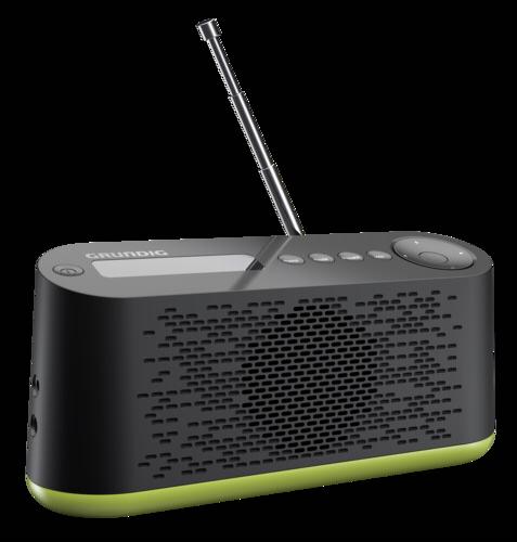 Tragbares dab radio