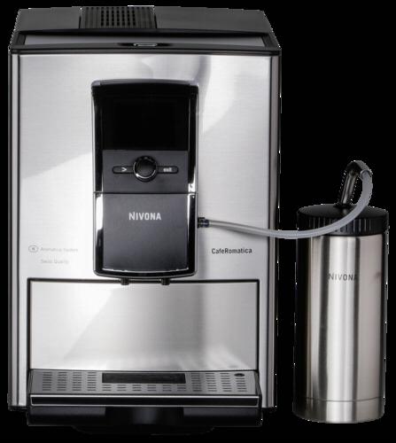Nivona caferomatica 858 kaffeevollautomat edelstahl for Kaffeevollautomat 200