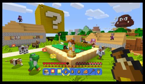 Wiiu Minecraft Wiiu Inkl Super Mario Mashup Dlc NINTENDO OF - Minecraft wii u spielen