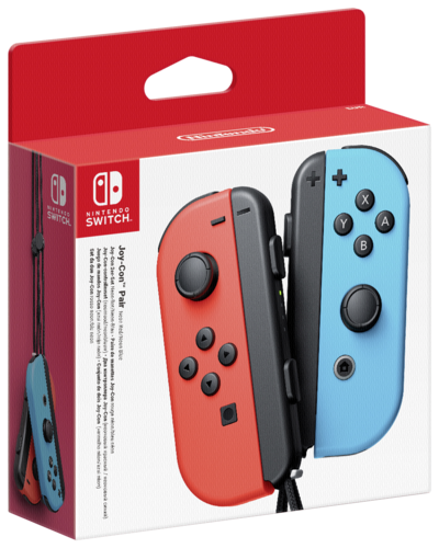 Nintendo-Switch-Joy-Con-2pack-Neon-Red-Neon-Blue-NEW