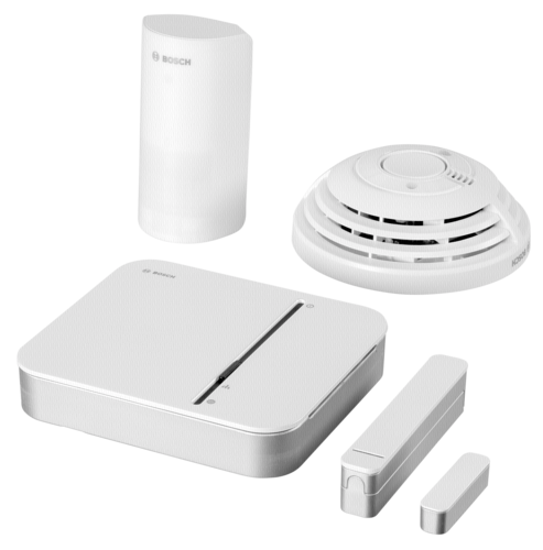 komplettpaket bosch smart home sicherheit starter paket bosch hardware electronic grooves inc. Black Bedroom Furniture Sets. Home Design Ideas