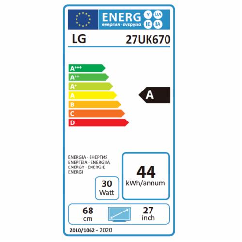 LED Lg - 27UK670-B-Monitor - Lg Hardware/Electronic Grooves Inc.