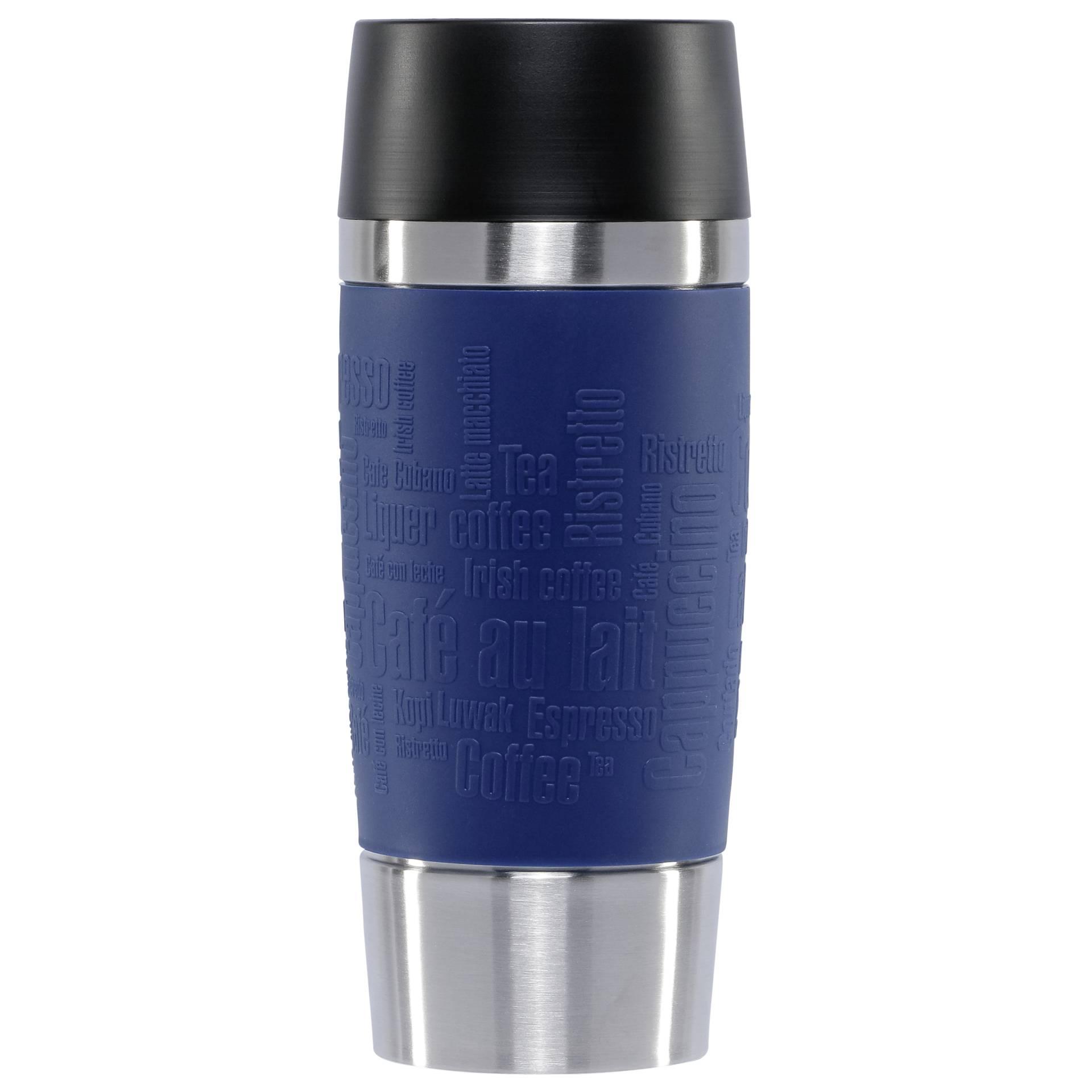 Emsa Isolierbecher Travel Mug 0 36 Liter Manschette Blau Hochwertiger Vakuumisolierter Edelstahlkorper Spul 1 St Uum Emsa Hardware Electronic Grooves Land Playthek