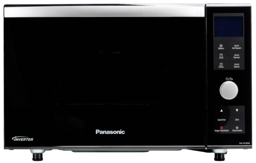 panasonic nn df383b inverter kombi mikrowelle schwarz panasonic hardware electronic grooves inc. Black Bedroom Furniture Sets. Home Design Ideas