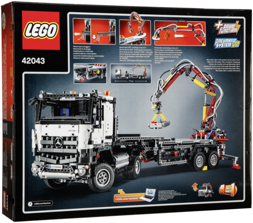 lego technic 42043 mercedes benz arocs 3245 lego toys spielzeug grooves inc. Black Bedroom Furniture Sets. Home Design Ideas