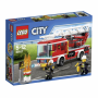 "City Feuerwehrfahrzeug Mit Fahrbarer L""City 60107 Feuerwehr- fahrzeug mit fahrbarer Leiter"""