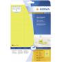 """Herma""""Neonetik. neonge 63,5x29,6 20 Blatt DIN A4 540 Stück 5140"""""""