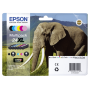 "Epson ""Multipack XL Claria Photo HD BK/C/M/Y/LC/LM T 243 T 2438"""