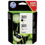 "Hp Deutschland Gmbh ""HP N9J72AE Combo 2-Pack BK/Color No. 301 [EURO-Version]"""