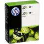 "Hp""HP D8J45AE Tintenpatrone schwarz No. 301 XL Doppelpack"""