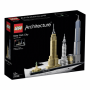 "LEGO ""21028 Architecture New York City, Konstruktionsspielzeug"""