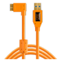 "Tether Tools ""TPro USB 3.0 Micro-B Right Angle 4.6m/15 ORG"""