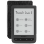 "Pocketbook ""Touch Lux 3 dark grey, E-Book Reader"""