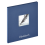 """Walther""""Fun Gästebuch blau 23x25 72 weiße Seiten GB205L"""""""