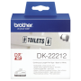 """Brother""""DK-22212 - Permanentklebeband - weiß - Rolle (6,2 cmx 15,2 m) - für QL 1050, 1060, 500, 550, 560, 570, 580, 650"""""""