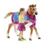 """Schleich""""Horse Club 42361 Fohlen mit Decke"""""""