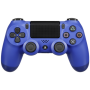 "Sony ""Playstation PS4 Controller Dual Shock wireless blue V2"""