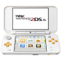 "Nintendo Hardware ""New 2DS XL Weiß + Orange [EURO-Version, Regio 2/B]"""