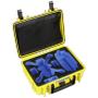 "B&w International""B&W Copter Case Type 1000/Y gelb mit DJI Spark Inlay"""