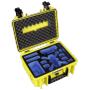 "B&w International""B&W Copter Case Type 3000/Y gelb mit DJI Spark Inlay"""