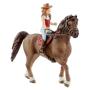 """Schleich Gmbh""""Schleich Horse Club Mädchen 1 & Quarter Horse Wallach (42411)"""""""