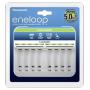 """Eneloop""""Panasonic Eneloop 8-Zellen Ladegerät ohne Akkus"""""""