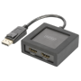 "Digitus ""DisplayPort auf HDMI Splitter 4K 1x2, Splitter & Switches"""