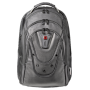 "Wenger""Ibex Notebook Rucksack 17,3 Black Leather 125th [DE-Version, German Keyboard]"""