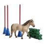 "Schleich""Farm World 42483 Pony Slalom"""