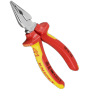 "Knipex ""Spitz-Kombizangen - Side-cutting pliers - Metall - Kunststoff - Rot/Orange (08 26 145)"""