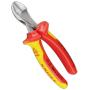 """Knipex""""X-Cut - Seitenschneider - Chrom-Vanadium-Stahl - Kunststoff - Rot/Orange (73 06 160)"""""""