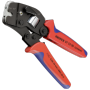 """Knipex""""97 53 09 Selbsteinstellende Crimpzange für Aderendhülsen Geeignet für Aderendhülsen 0,08 - 10 mm² + 16 mm² ("""""""