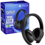 "Sony ""PS4 Gold Wireless Headset Fortnite Neo Versa Bundle"""