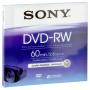"""Sony""""DVD-RW 2,8GB 8 cm 2x Speed, Jewel Case DMW 60 AJ [DE-Version, Regio 2/B]"""""""